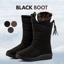 Load image into Gallery viewer, Waterproof Faux Fur Snow Boots【Warm, non-slip, durable】【FAST Shipping】