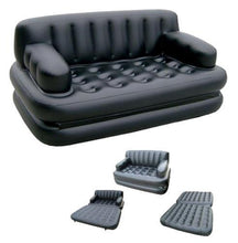 Load image into Gallery viewer, 5 in 1 Inflatable Sofa Air Bed Couch