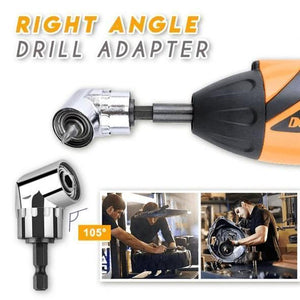 (50% Discount Today )Right Angle Drill Adapter