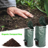 TKHP Garden Organic Waste Kitchen Garden Yard Compost Bag