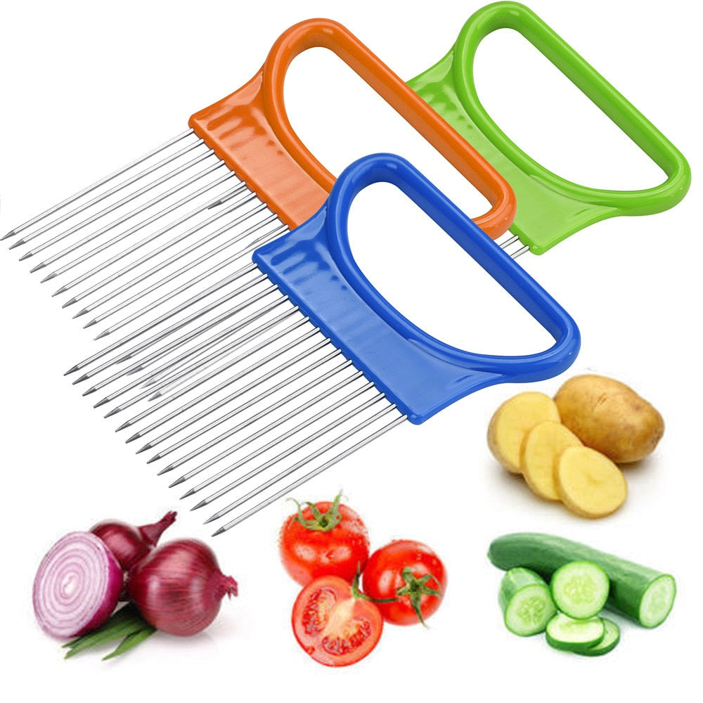 TKHP Kitchen  Cutting Tools Tomato Onion Vegetables Slicer