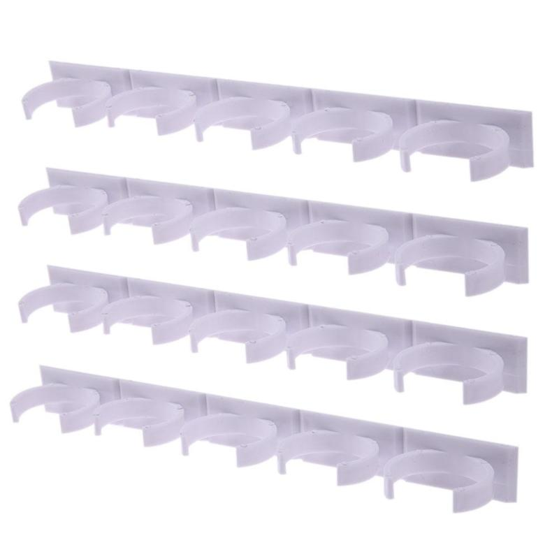 TKHP Wall Mount Ingredient Bottle Storage Holder