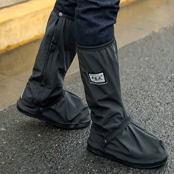 TKHP Motorcycle Cycling Rain Boot Cover for Shoes