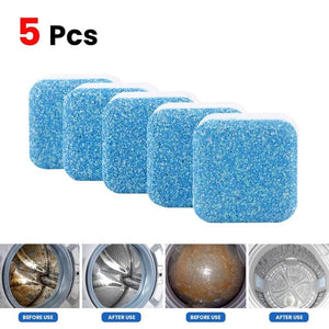 Open image in slideshow, TKHP 10 pcs Washing Machine Cleaner Descaler Deep Cleaning Deodorant