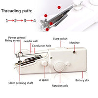 TKHP Portable Sewing Machine Mini Handheld