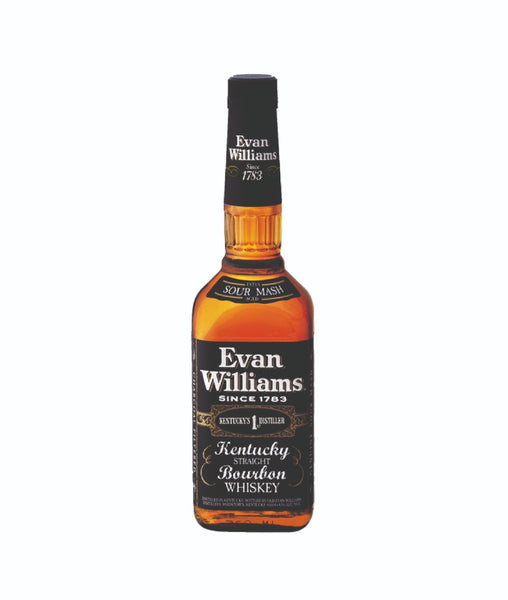 Buy Evan Williams Black Label - 43% - 700ml Online at Wholly Spirits Malaysia