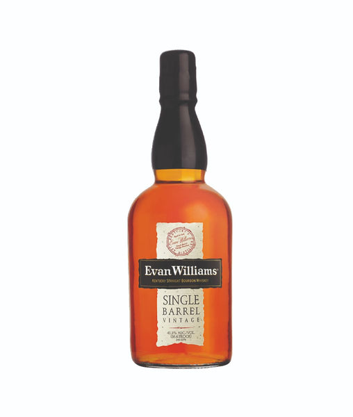 Buy Evan Williams Single Barrel - 43.3% - 750ml Online at Wholly Spirits Malaysia