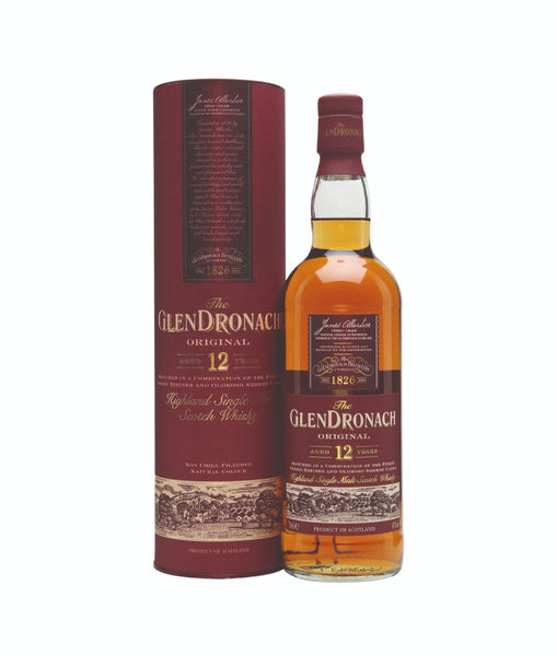 GlenDronach 12 Year Old Original - 43% - 700ml