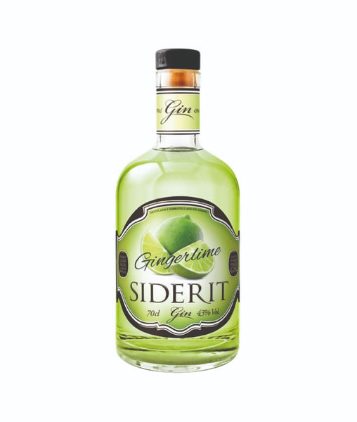 Buy Gin Siderit Ginger Lime - 43% - 700ml Online at Wholly Spirits Malaysia