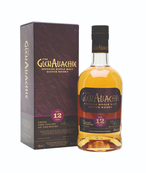 Buy GlenAllachie 12 Year Old - 46% - 700ml Online at Wholly Spirits Malaysia