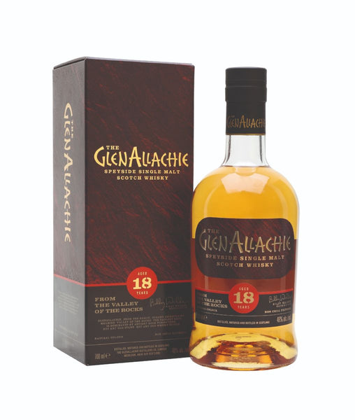 Buy Glenallachie 18yo - 46% - 700ml Online at Wholly Spirits Malaysia