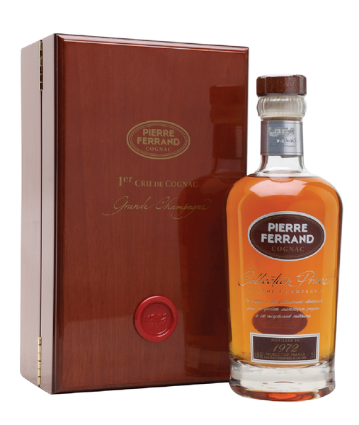 Buy Pierre Ferrand 1972 Collection Privée Cognac - 43.8% - 700ml Online at Wholly Spirits Malaysia