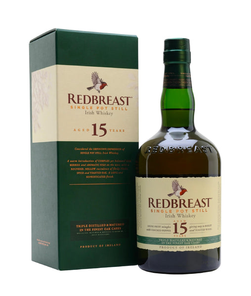 Redbreast 15 Year Old - 46% - 700ml