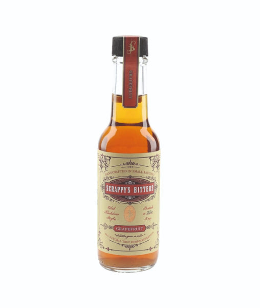 Buy Scrappys Grapefruit Bitters - 45% - 148ml Online at Wholly Spirits Malaysia