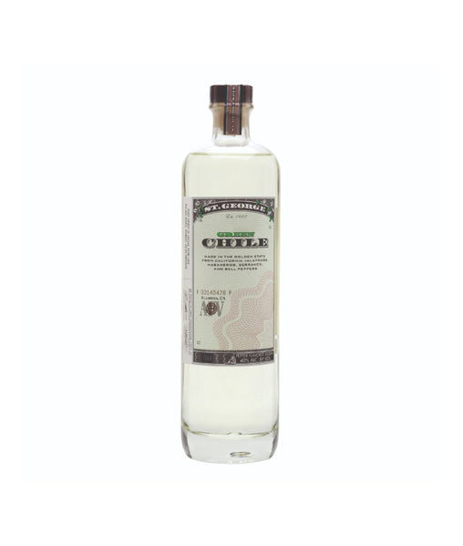 Buy St. George Green Chile Vodka - 40% - 750ml Online at Wholly Spirits Malaysia