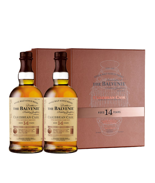 Twin Pack ft Balvenie 14yo Caribbean Cask