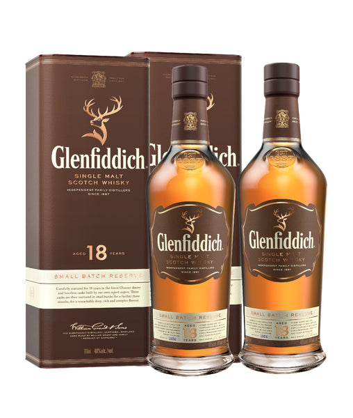 Buy Twin Pack ft Glenfiddich 18 Online at Wholly Spirits Malaysia