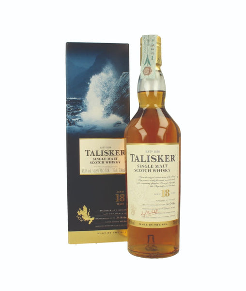 Buy Talisker 18YO - 45.8% - 700ml Online at Wholly Spirits Malaysia