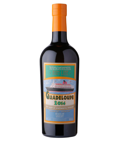 Transcontinental Rum Guadeloupe 2014 - 43% - 700ml