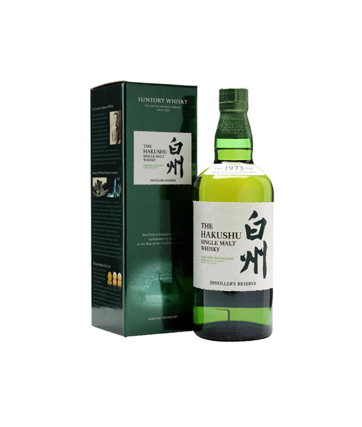 Buy Hakushu Distiller's Reserve - 43% - 700ml Online at Wholly Spirits Malaysia