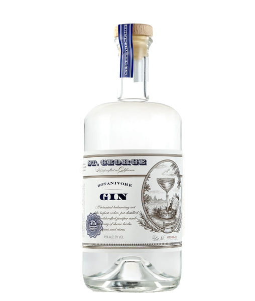 Buy St. George Botanivore Gin - 45% - 750ml Online at Wholly Spirits Malaysia