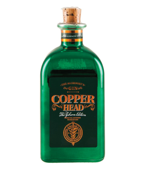 Buy Copperhead Gibson Gin - 40% - 500ml Online at Wholly Spirits Malaysia