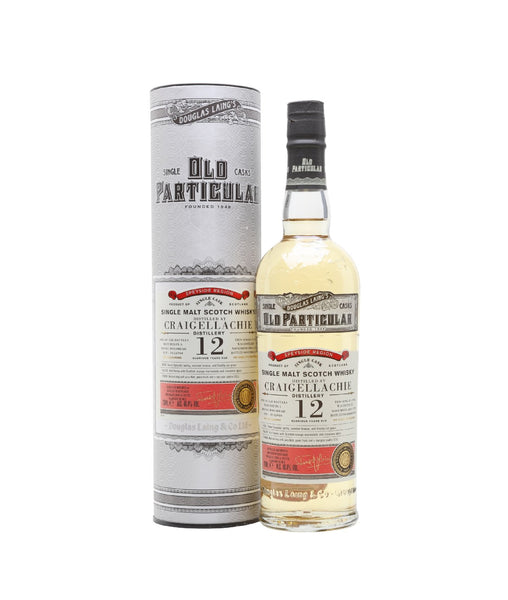 Buy Old Particular Craigellachie 2006 12 Years Old - 48.4% - 700ml Online at Wholly Spirits Malaysia