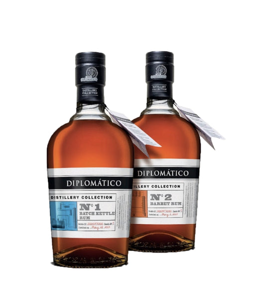 Buy Diplomatico Distillery Collection N01.N02 - 47% - 700ml Online at Wholly Spirits Malaysia