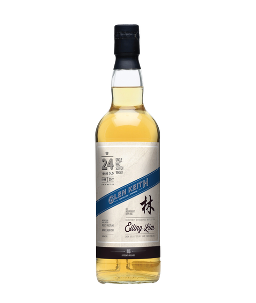 Eiling Lim - Glen Keith 24 Yo 1993/2017 - 50.8% - 700ml