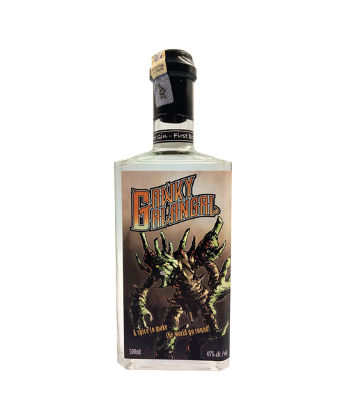 Buy Eiling Lim Gawky Galangal Gin - 45% - 500ml Online at Wholly Spirits Malaysia