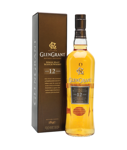 Buy Glen Grant 12 Year Old - 43% - 700ml Online at Wholly Spirits Malaysia