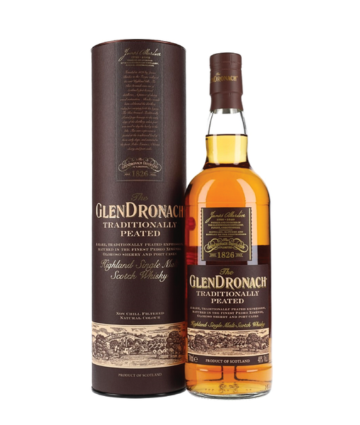 Buy GlenDronach Traditionally Peated - 48% - 700ml Online at Wholly Spirits Malaysia