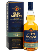 Glen Moray 12 Year Old - 40% - 700ml