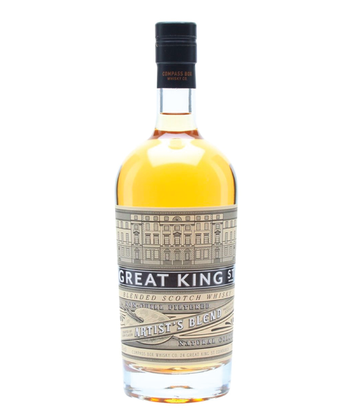 Buy Great King street Artist's Blended Scotch - 43% - 700ml Online at Wholly Spirits Malaysia