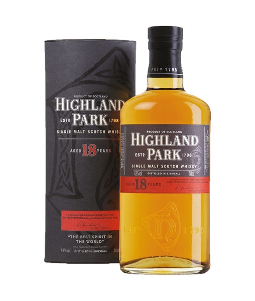 Highland Park 18 Year Old - 43% - 700ml