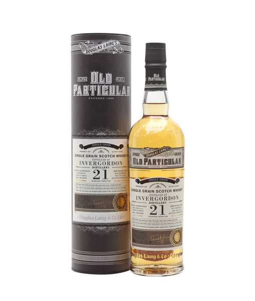 Buy Old Particular Invergordon 1997 21 Years Old - 51.5% - 700ml Online at Wholly Spirits Malaysia