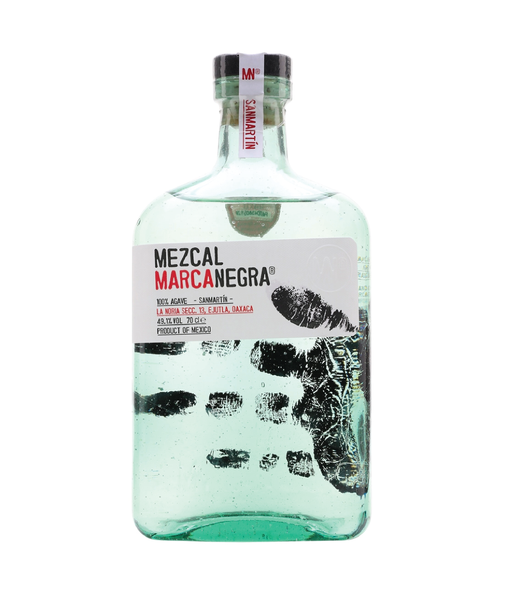 Buy Marca Negra San Martin Mezcal - 49.1% - 700ml Online at Wholly Spirits Malaysia
