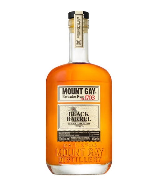 Buy Mount Gay Black Barrel - 43% - 700ml Online at Wholly Spirits Malaysia