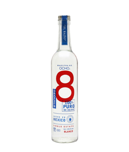 Ocho Blanco Tequila - 40% - 500ml