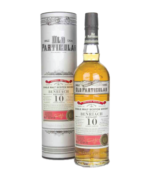 Buy Old Particular Benriach 10 Years - 48.4% - 700ml Online at Wholly Spirits Malaysia