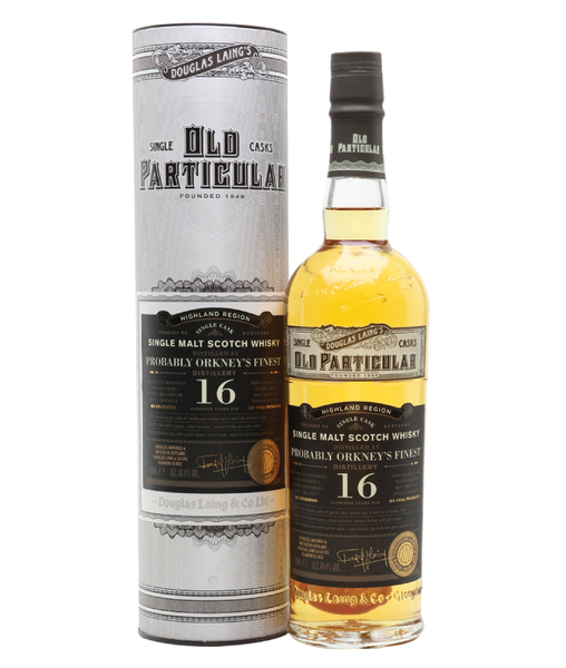 Buy Old Particular Orkney's Finest 2003 16 Years Old - 48.4% - 700ml Online at Wholly Spirits Malaysia