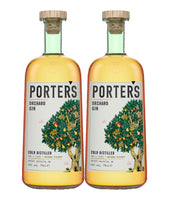 Buy Porter's Orchard Gin - Twin Pack Online at Wholly Spirits Malaysia