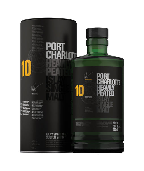 Buy Whisky Port Charlotte 10 Yrs - 50% - 700ml Online at Wholly Spirits Malaysia