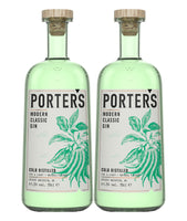 Buy Porter's Classic Gin -  Twin Pack Online at Wholly Spirits Malaysia