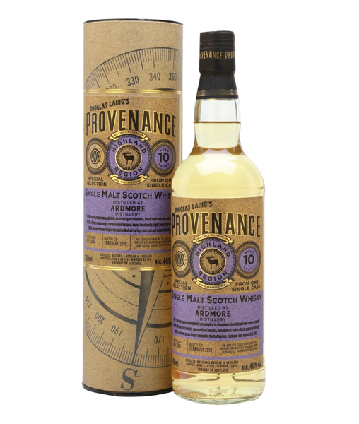 Buy Provenance Ardmore 2008 10 Years Old - 46% - 700ml Online at Wholly Spirits Malaysia