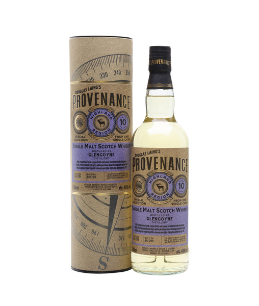 Buy Provenance Glengoyne 2008 10 Years Old - 46% - 700ml Online at Wholly Spirits Malaysia