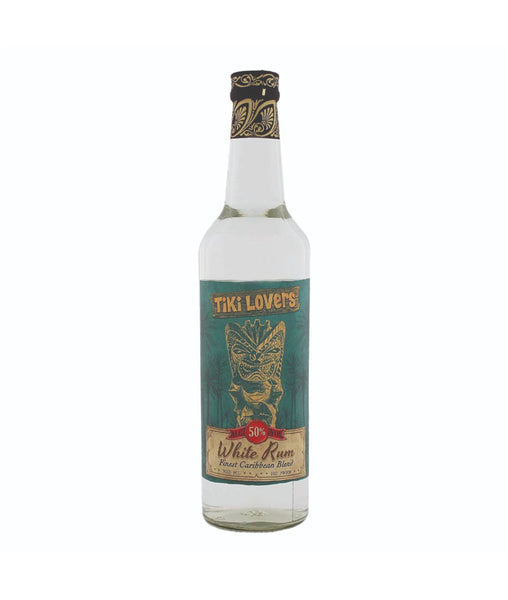 Buy Tiki Lovers White Rum - 50% - 700ml Online at Wholly Spirits Malaysia