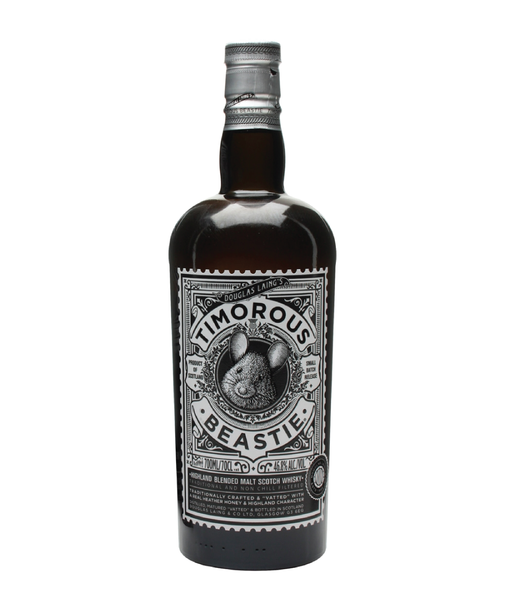 Timorous Beastie Highland Malt Scotch Whisky - 46.8% - 700ml