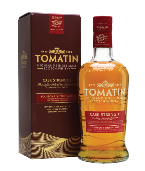 Buy Tomatin Cask Strength Malt 6 - 57.5% - 700ml Online at Wholly Spirits Malaysia