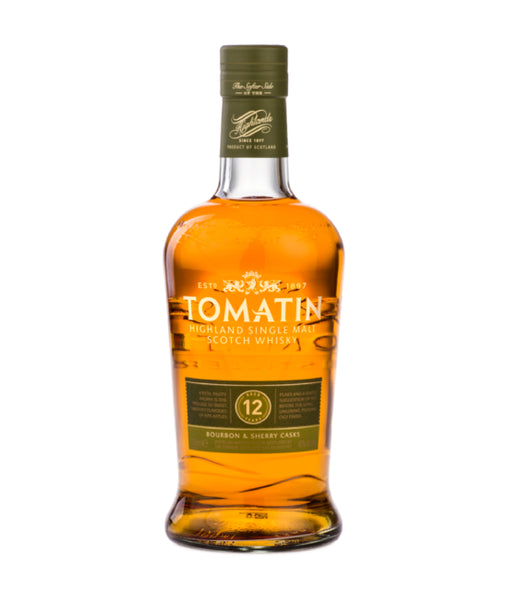 Buy Tomatin 12 Year Old Single Malt Scotch Whisky - 43% - 700ml Online at Wholly Spirits Malaysia